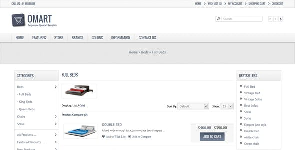 Online Hardware Shop Templates from ThemeForest