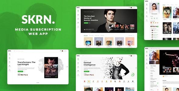 SKRN - Media Streaming App - Film & TV Entertainment
