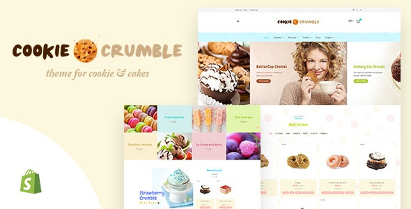 Cookie | Shopify Fast Food eCommerce - Miscellaneous Shopify