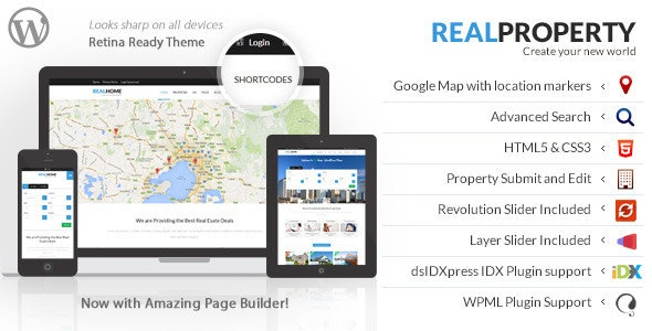 Real Property - RealEstate Theme - Real Estate WordPress