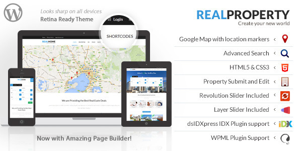Real Property - Responsive Realestate WP Theme - Real Estate WordPress