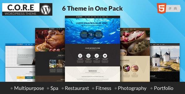 Core - OnePage WordPress - Experimental Creative
