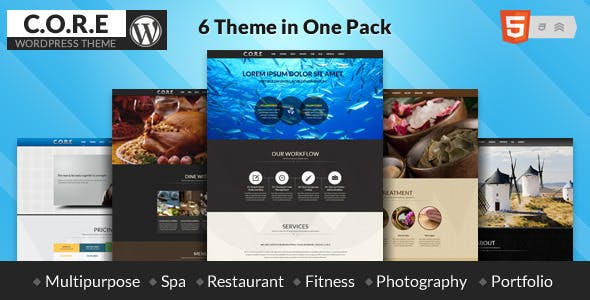 Core - OnePage WordPress