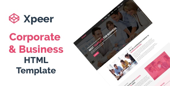 Xpeer - Corporate and Business One Page HTML Template - Business Corporate