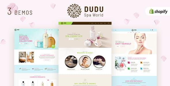 DUDU - Beauty Cosmetic Shopify Theme