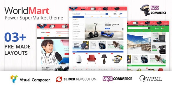 Worldmart - Electronics & Multipurpose WooCommerce WordPress Theme ( RTL supported ) - WooCommerce eCommerce