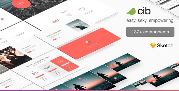 Company In a Box: Launch [UX Sketch Template] - Sketch UI Templates