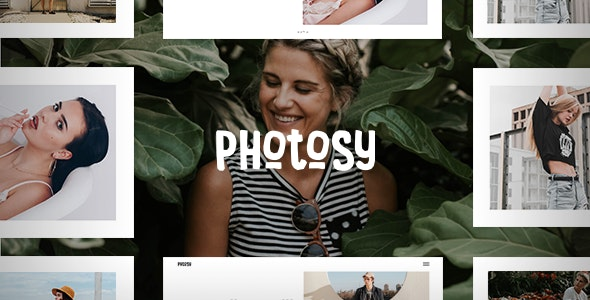 Photosy - Photography WordPress Theme - Photography Creative