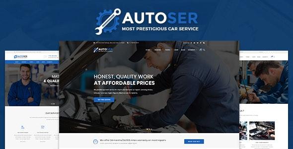 AutoSer - Auto Service and Car Repair - Site Templates