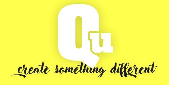 Qu - Creative Multipurpose WordPress Theme