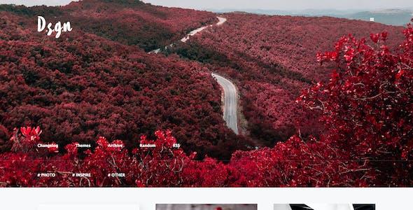 D.S.G.N   Grid-Based, Gallery Tumblr Theme