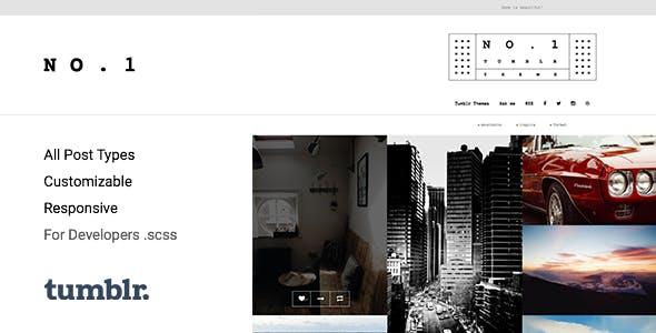 NO.1   Creative Portfolio Tumblr Theme