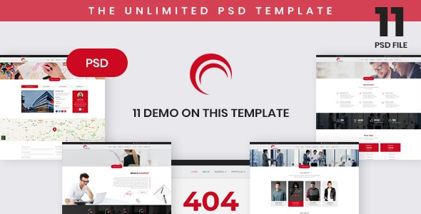 Creative - Business Based PSD Template - Business Corporate