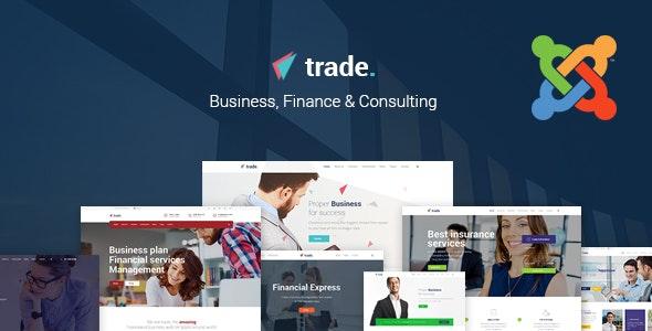 Trade - Multipurpose Joomla Template - Business Corporate