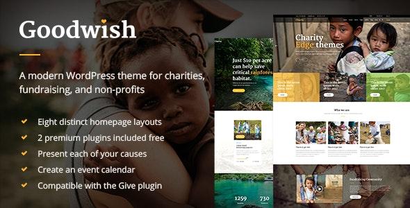 Goodwish - Charity & Nonprofit Theme - Charity Nonprofit