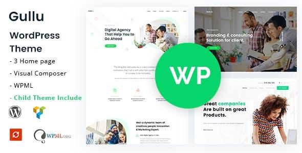 Gullu - Creative Digital Agency & Multipurpose WordPress Theme by CreativeGigs