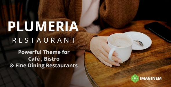 Plumeria | Restaurant Theme for WordPress - Restaurants & Cafes Entertainment
