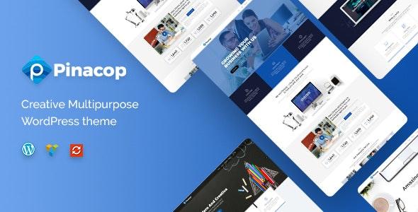 Pinacop - Creative Multipurpose WordPress Theme - Corporate WordPress