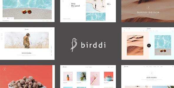 Birddi - A Creative Portfolio WordPress Theme - Portfolio Creative