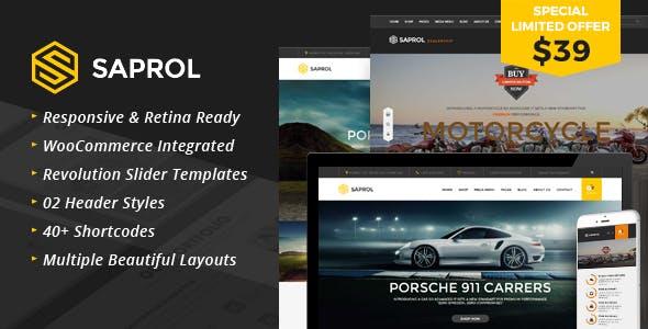 Saprol - WordPress Listing Woocommerce Theme