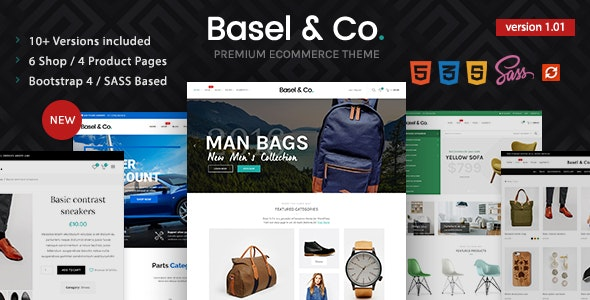 Basel - Ecommerce HTML Template - Shopping Retail