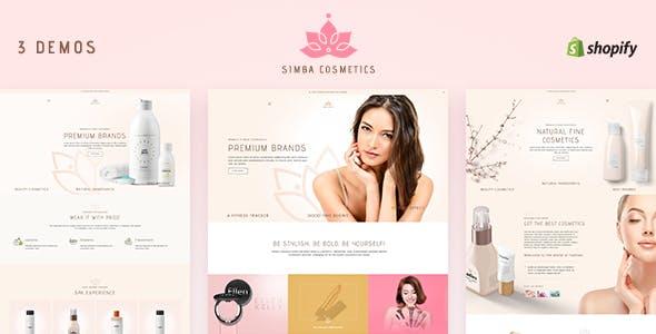 Simba - Shopify Beauty Store