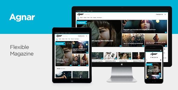 Agnar - Responsive WordPress Magazine & Blog Theme - Personal Blog / Magazine