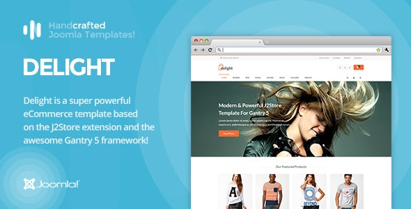 IT Delight - Gantry 5, eCommerce/J2Store Joomla Template - Shopping Retail