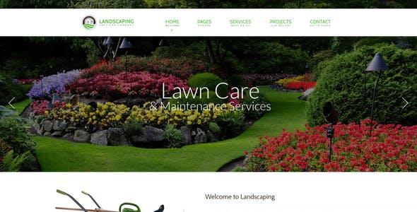 Landscape Html Website Templates From Themeforest