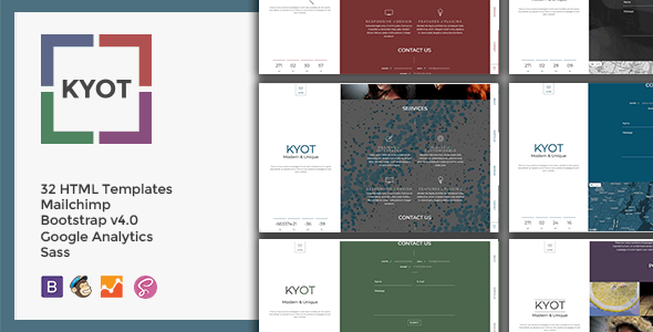 KYOT - Coming Soon - Under Construction Specialty Pages