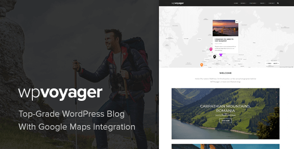WPVoyager - Travel Blog WordPress Theme - Personal Blog / Magazine