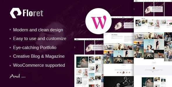 Floret - Creative Multipurpose WordPress Theme - Portfolio Creative