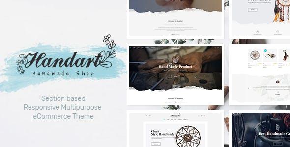 HandArt - Shopify Theme for Artists, Jewelry, ArtWork, Handmade and Artisans