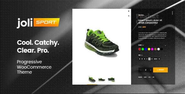 joli-sport - Progressive WooCommerce Theme - WooCommerce eCommerce