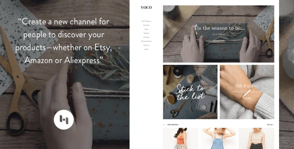 Download VOCO: Product showcasing theme for merchant