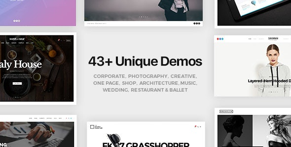 FatMoon | Creative & Photography Multi-Purpose Theme - Creative WordPress