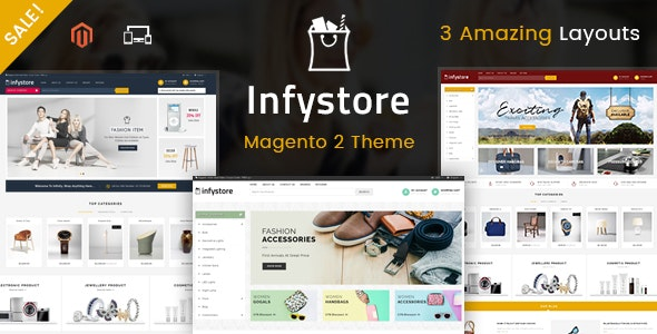 Infystore - Responsive Magento 2 Theme - Shopping Magento