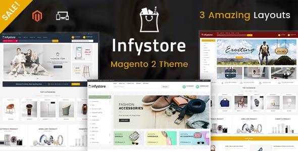 Infystore - Responsive Magento 2 Theme