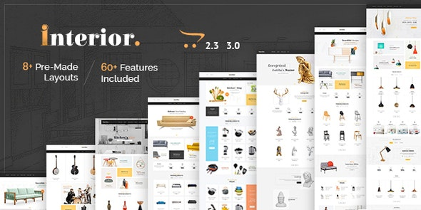 Interior - Opencart 3 Multi Purpose Responsive Theme - Shopping OpenCart