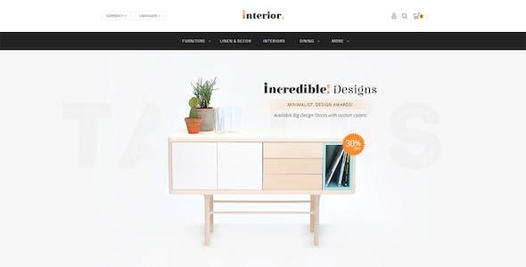 Interior - Opencart 3 Multi Purpose Responsive Theme