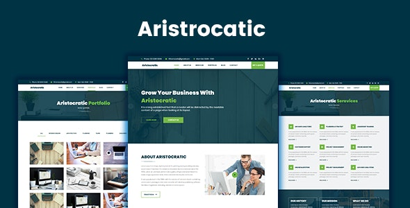 Aristocratic - Multi Purpose Business HTML5 Template - Business Corporate
