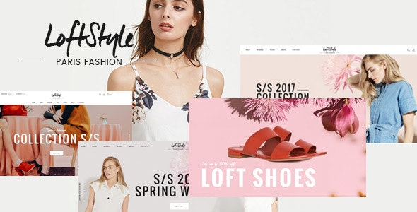 LoftStyle Magento 2.2.x Template - Magento eCommerce