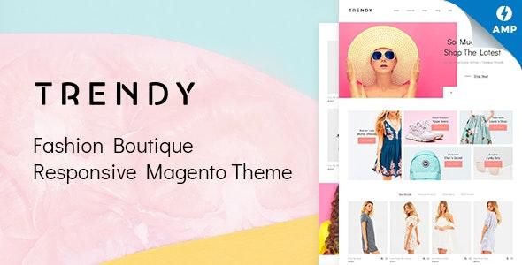 Trendy - AMP Minimal Fashion Boutique Magento Theme - Fashion Magento