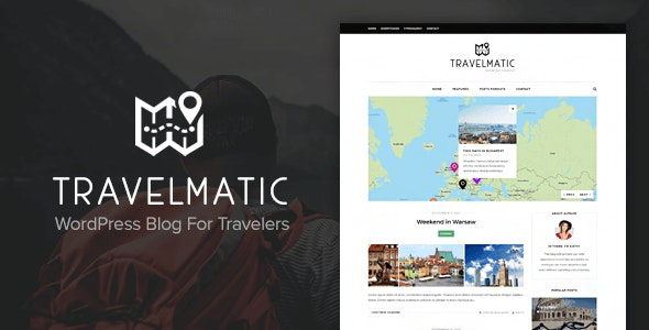 Travelmatic -  Adventure Trips Blog WordPress Theme - Personal Blog / Magazine