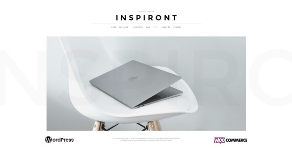 Inspiront - A Responsive WordPress Blog Theme - Personal Blog / Magazine