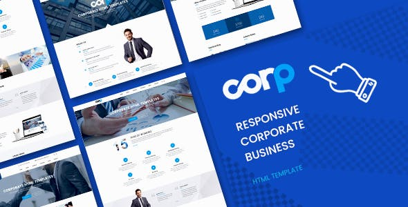 Corp Responsive Corporate Business HTML5 Template
