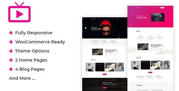 MaxVid - Video Agency WordPress Theme