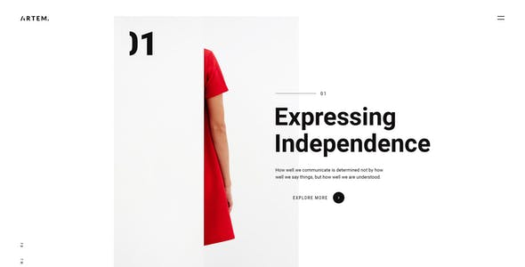 ARTEM – Digital Agency PSD Template