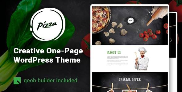 Pizza - Restaurant Cafe WordPress Theme