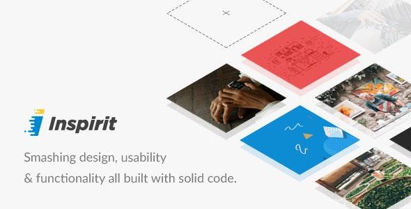 Inspirit - Responsive HTML5 Template - Corporate Site Templates